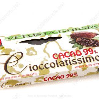 Cioccolato extra fondente al 99% Norcia