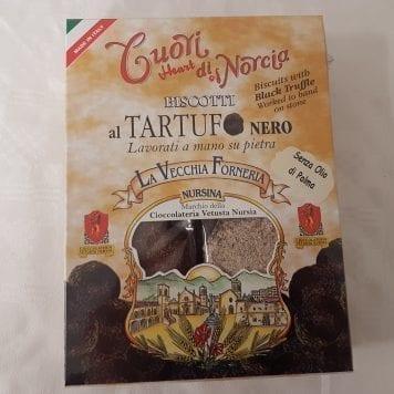 Biscotti Cuori di Norcia al Tartufo Nero